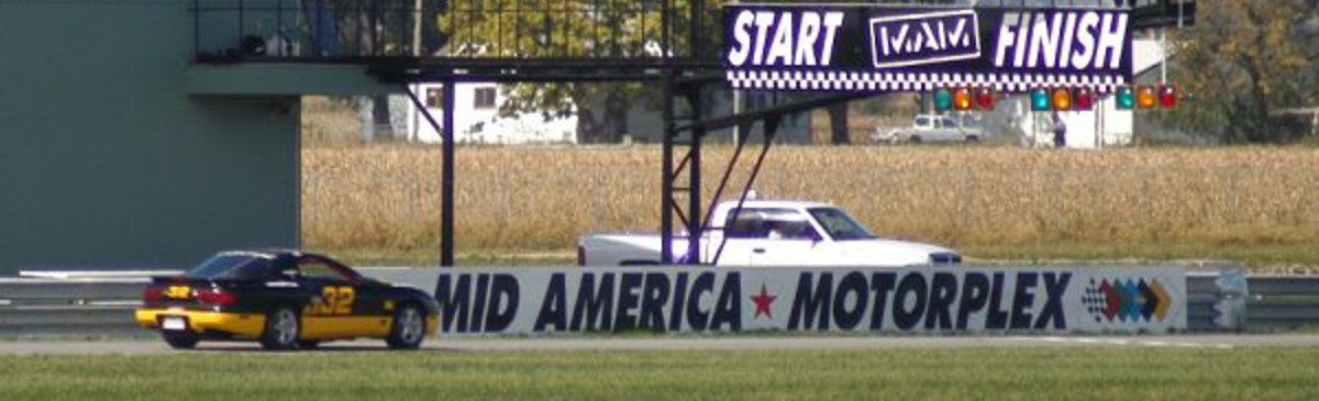 Our SCCA road race car taking another win at the new race track MAM in Iowa!